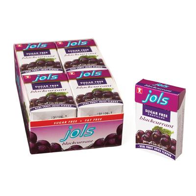 Sugar Free Black Currant Pastilles 0.9 oz.: 12 Count