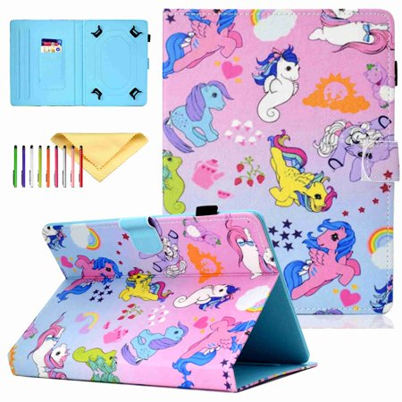 Surprising Universal For 10 Inch Tablet Case Dteck Fashion Patterned Folio Cover Slim Card Pu Leather Stand Cover Horse Download Free Architecture Designs Scobabritishbridgeorg