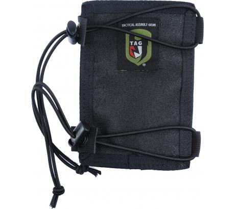 Tactical Assault Gear Tactical Arm Band w/Zippered Compartment - Black 811811