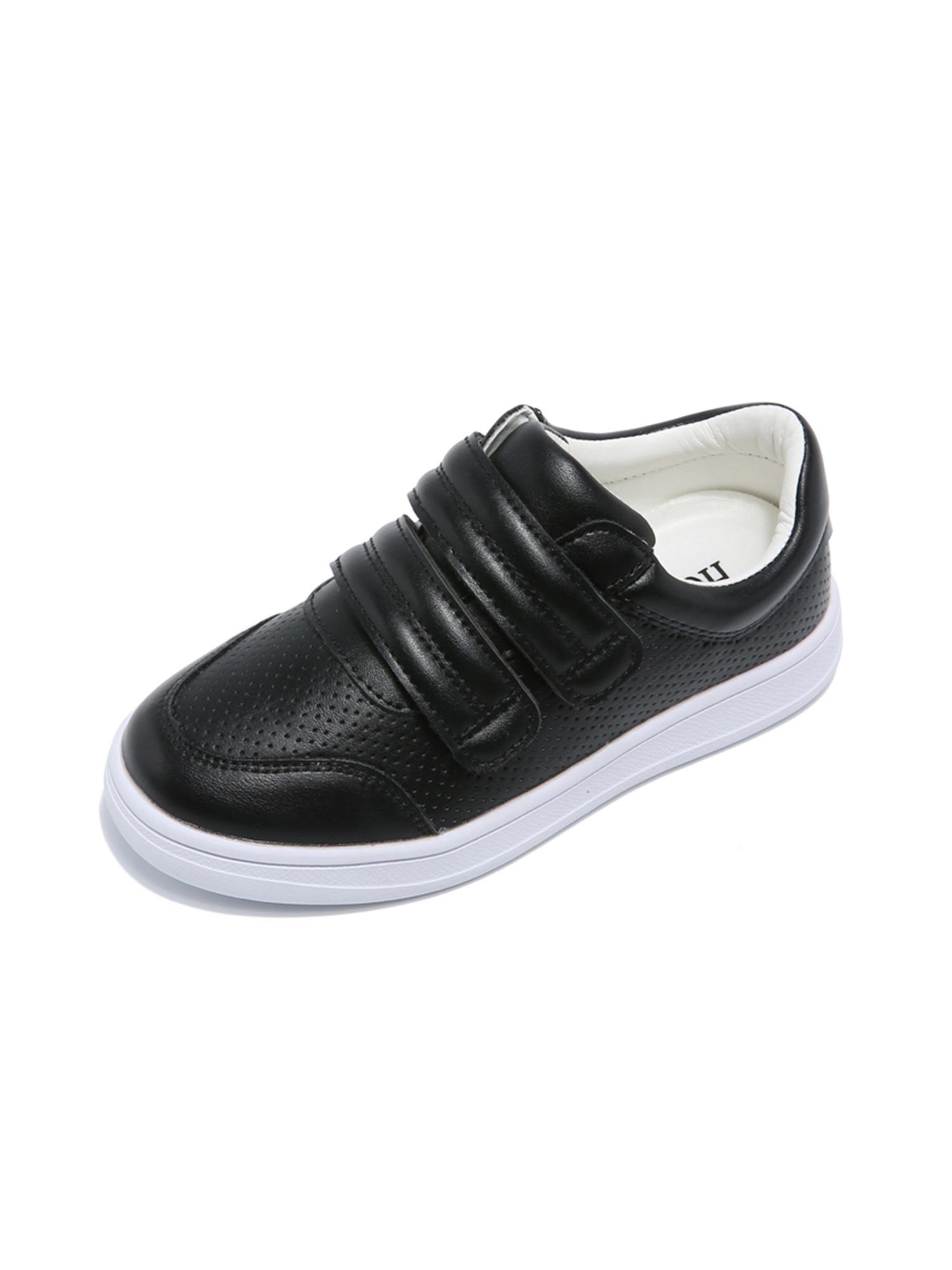 NOEL Boys Kids Rodin Grey Zips /& Laces Leather Trainers 5Y044423E