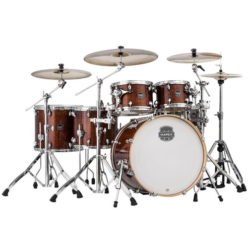 Mapex Armory Series Studioease Fast 6-Piece Drum Shell Pack Transparent Walnut