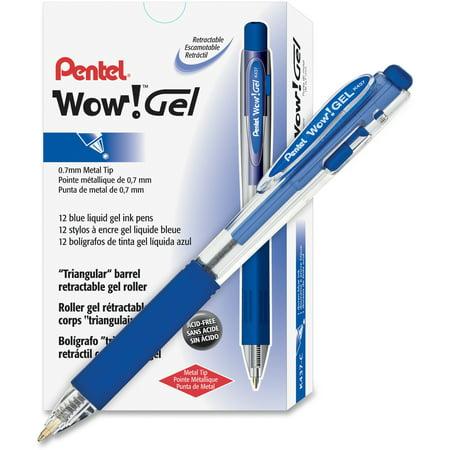 - Pentel, PENK437C, Wow! Gel Pens, 12 / Dozen