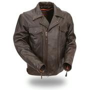 Mens High Quality Leather Cruising Jacket