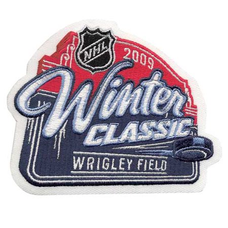 2009 NHL Winter Classic Game Logo Patch (Chicago Blackhawks vs. Detroit Red
