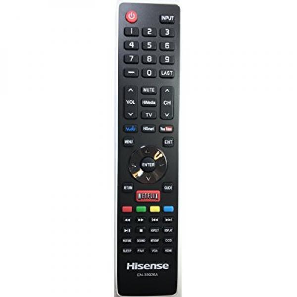 Hisense EN-33926A LED Smart TV Remote Control for 32K20DW 32K20W 40K366WN 50K610GWN 55K610GWN 40H5 XV5849 32H5B 40H5B 48H5 50H5B 50H5G 50H5GB