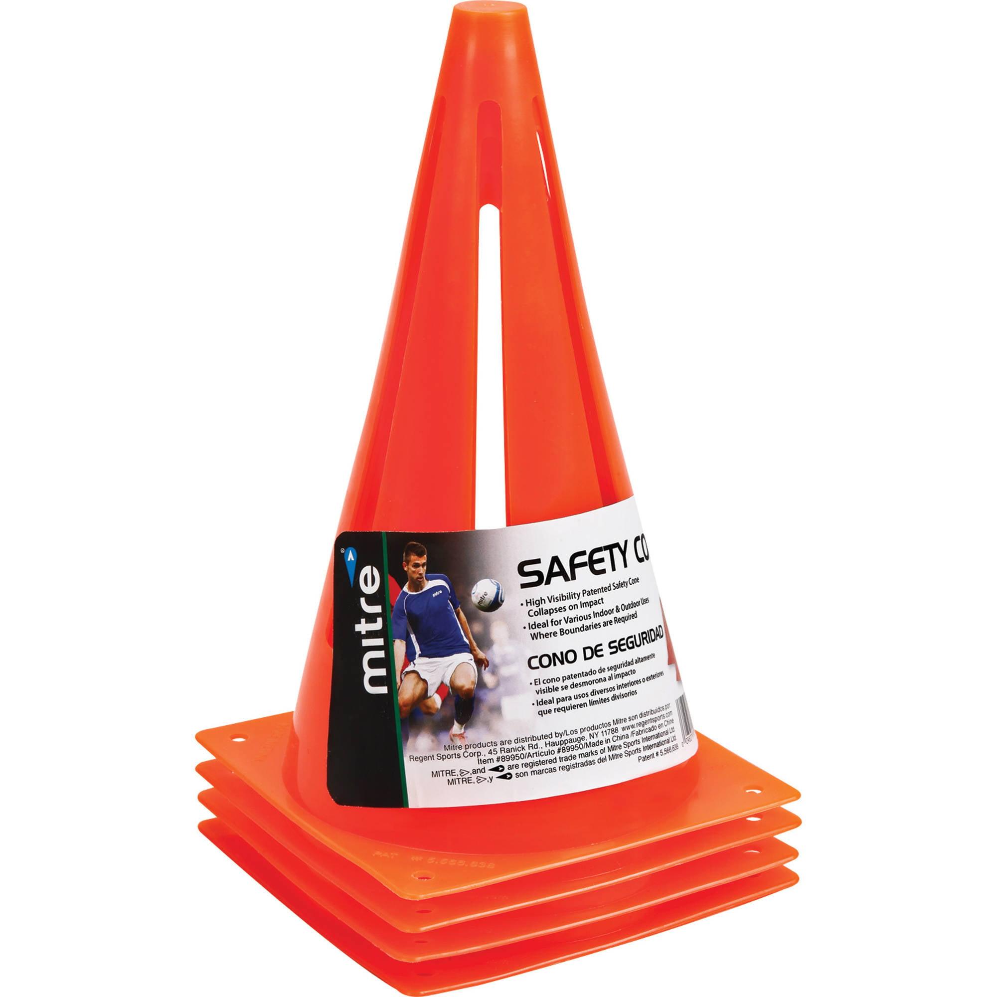 """Mitre 9"""" Safety Cones"""