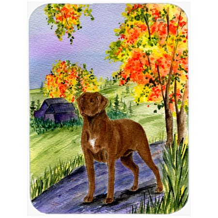 Caroline's Treasures Chesapeake Bay Retriever Glass Cutting Board