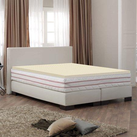 Wayton Mattress Topper- 2 Inch High Density Foam To Supplement The Comfort Of Your Mattress
