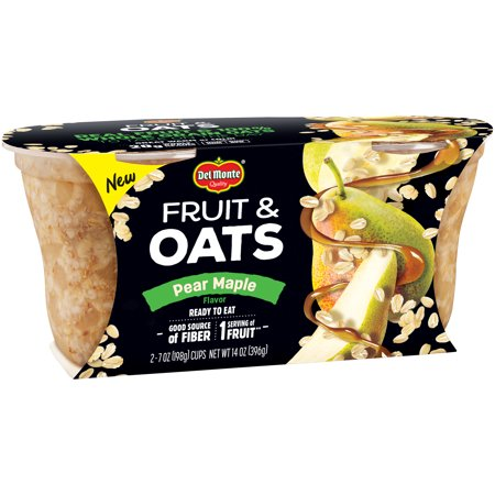 Pearl Fruit ((4 Pack) Del Monte Fruit & Oats Pear)