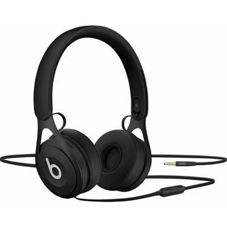 Certified Refurbished Beats by Dr. Dre EP Black Over Ear Headphones (Beats By Dre Solo Hd For Sale)