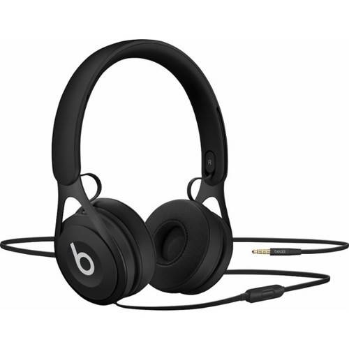 Beats by Dr. Dre EP Black Over Ear Headphones ML992LL/A, Refurbished