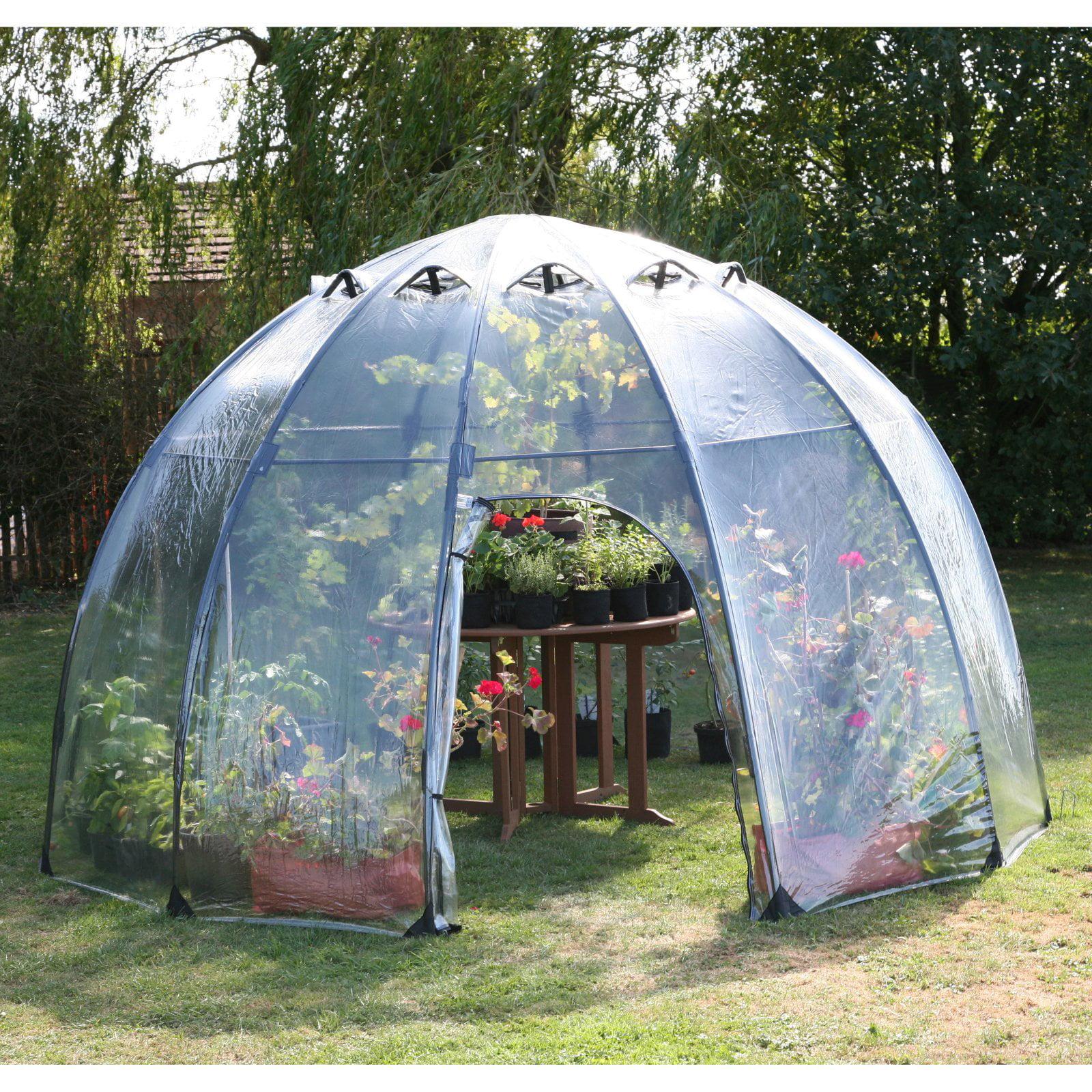 Tierra Garden Haxnicks Garden Sunbubble Greenhouse by TDI Brands