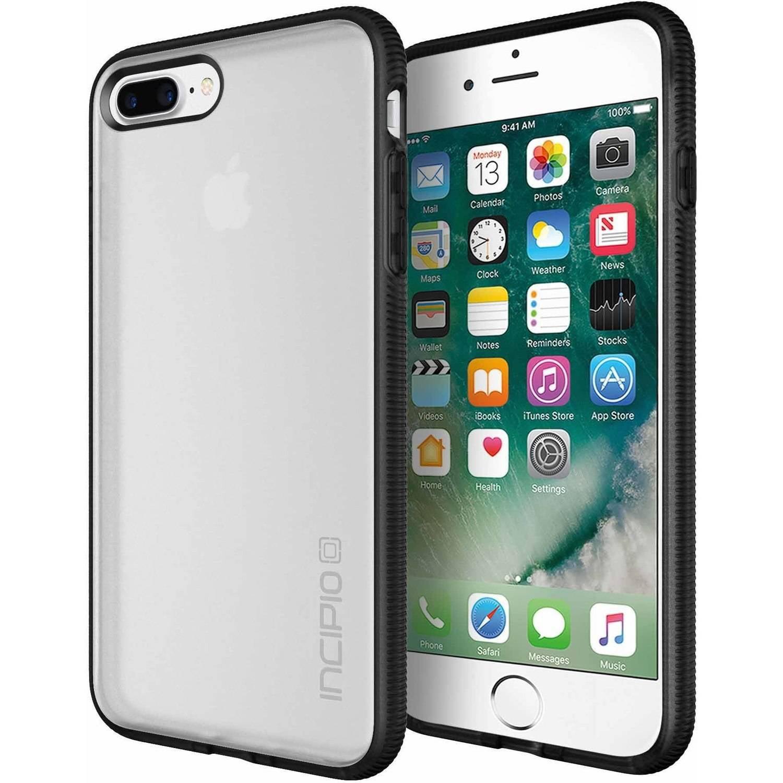 Incipio Octane Case for Apple iPhone 6 Plus, iPhone 6S Plus, and iPhone 7 Plus, Frost/Black