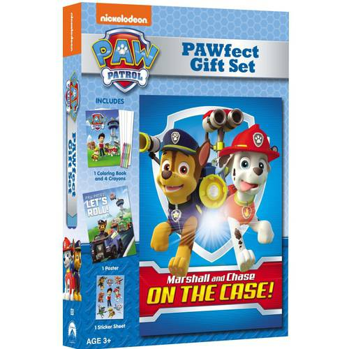 Paw Patrol: Marshall And Chase On The Case - Pawfect Gift Set