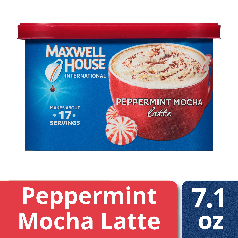 Maxwell House International Peppermint Mocha Latte Cafe