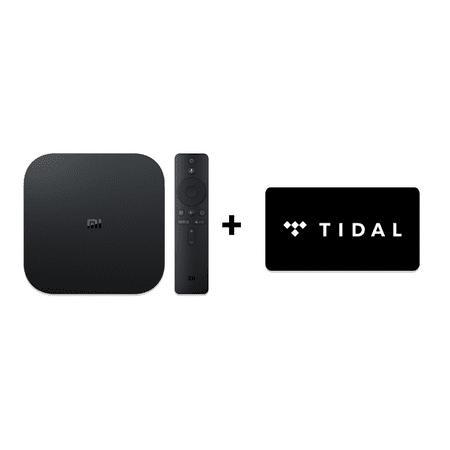 Xiaomi Mi Box S 4K HDR Android TV + TIDAL Premium 4-Month FREE Trial