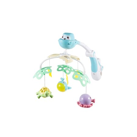 NBD Musical Baby Crib Mobile ñ Help Your Baby Sleep with Our Hanging Projection Mobile Nursery Toy for Babies Ages 0 to 9 (Best Baby Mobile For Sleep)