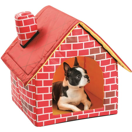 Cozy Climber Indoor Cat (Etna Portable Brick Dog House Warm And Cozy Indoor / Outdoor, Great For Dogs, Cats, Kittens,)