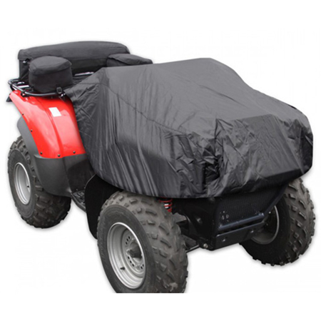Atv Rack Bag - ATV RACK COMBO BAG WITH COVER,BLACK
