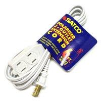 Satco 93192 - 6' White Extension Cord