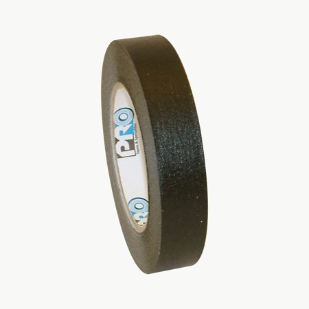 Pro Tapes PRO-46 Colored Masking Tape: 1 in. x 60 yds. (Black)