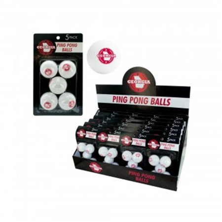Bulk Buys HB923-96 Georgia Ping Pong Balls Countertop Display - 96 Piece