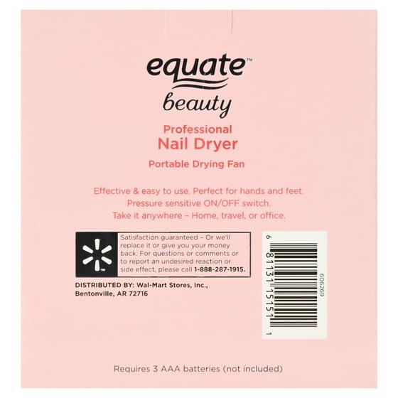 Equate Beauty Professional Nail Dryer Portable Drying Fan - Walmart.com