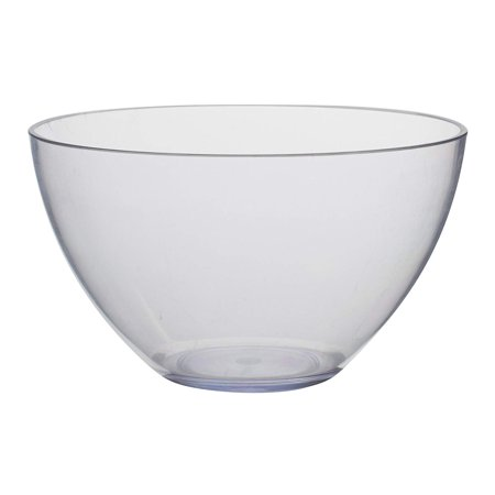 Zak Designs 0025-4233 Grace Soup Bowls, 5.8 inches, Clear