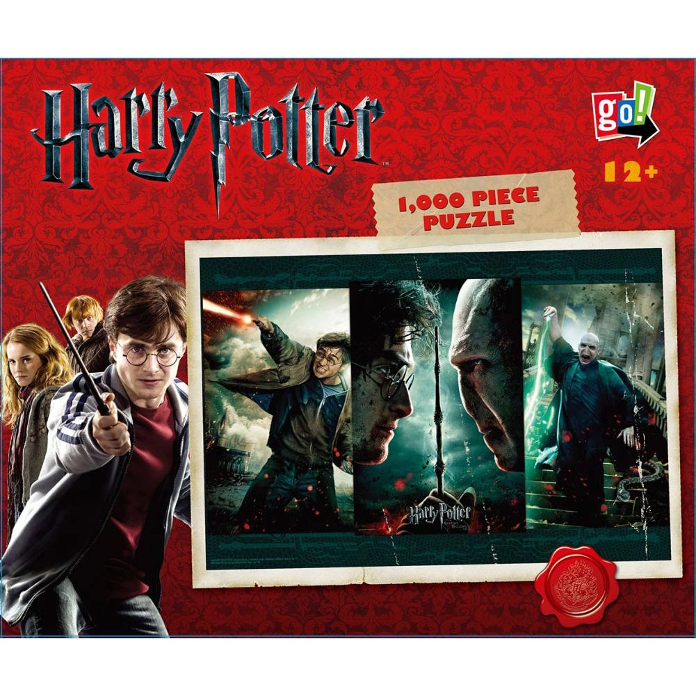 Harry Potter Harry versus Voldemort 1000 Piece Puzzle,  Harry Potter by Go! Games