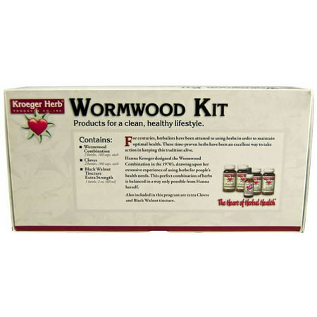 - Kroeger Herb Wormwood Parasite Control Kit, 5 CT