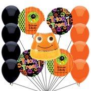 Veil Entertainment Candy Corn Big Halloween 14pc Balloon Pack