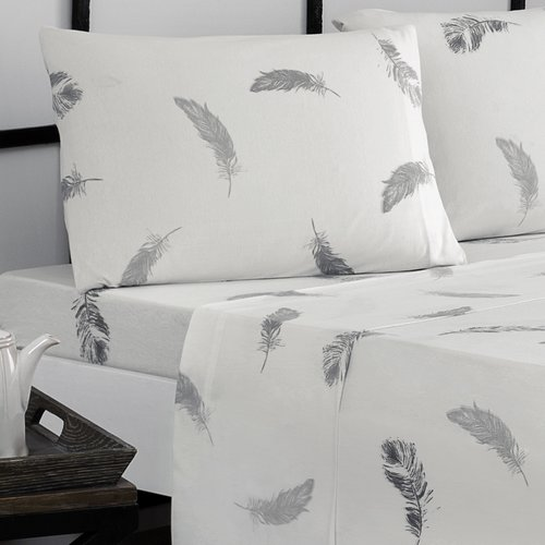 Brielle Feathers Jersey Sheet Set