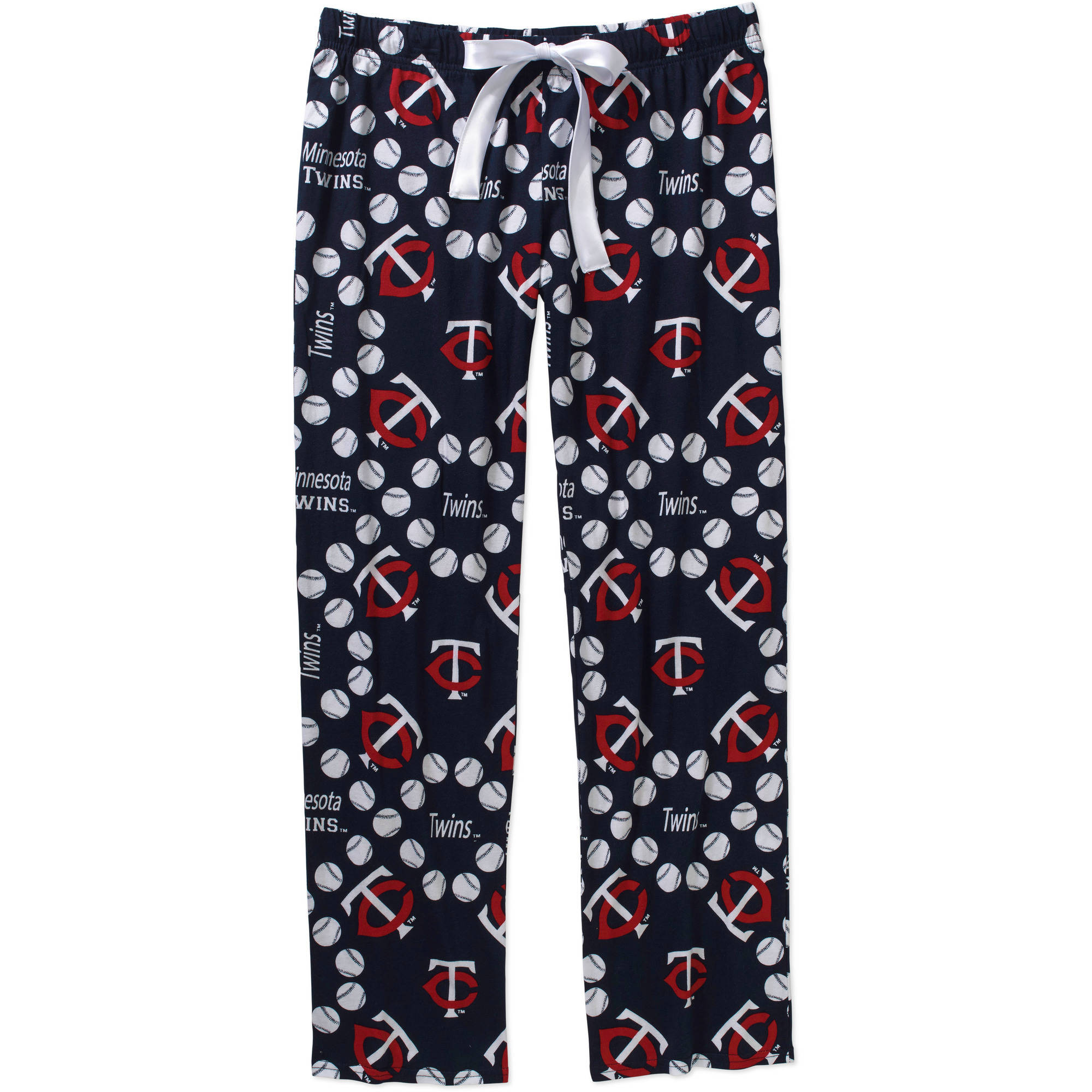 MLB Women's Minnesota Twins Knit Sleep Pants