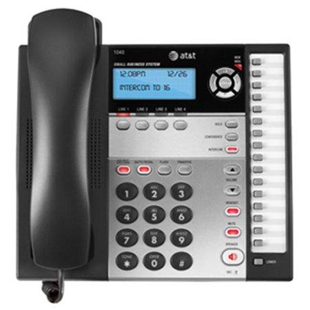 Vtech ATT1040 4 Line Phone Basic - Black and White - image 2 of 2