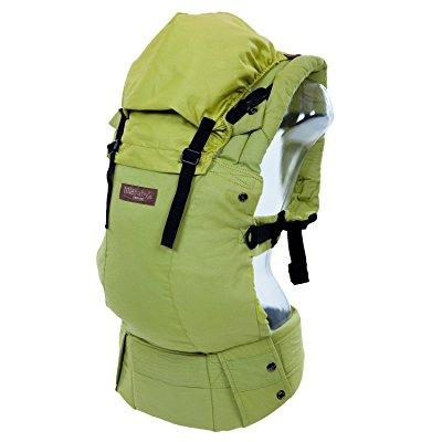 LÍLLÉbaby complete baby carrier organic - green meadow