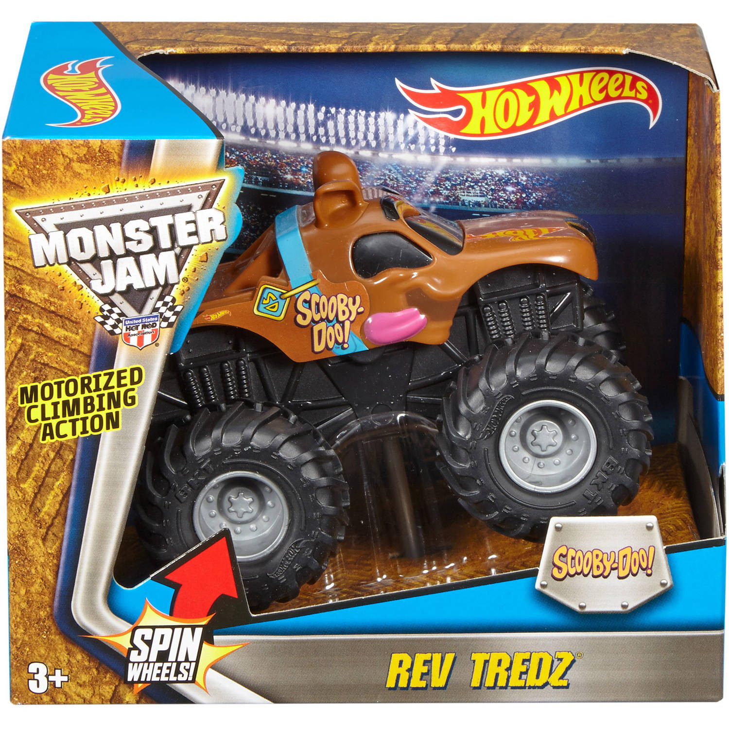 Monster Jam Mattel Hot Wheels Hw Mj Rev Tredz Asst by Mattel