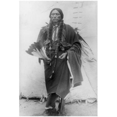 Comanche Chief Quanah Parker Photograph Poster - 13x19
