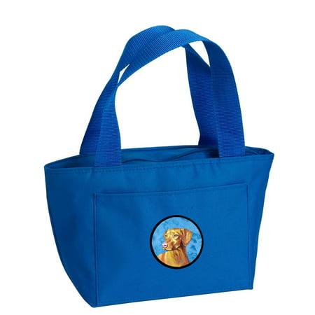 Blue Vizsla Lunch Bag or Doggie Bag LH9370BU