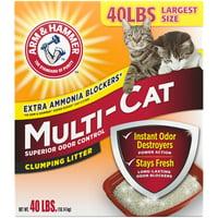 Arm & Hammer Multi-Cat Clumping Cat Litter, 40lb