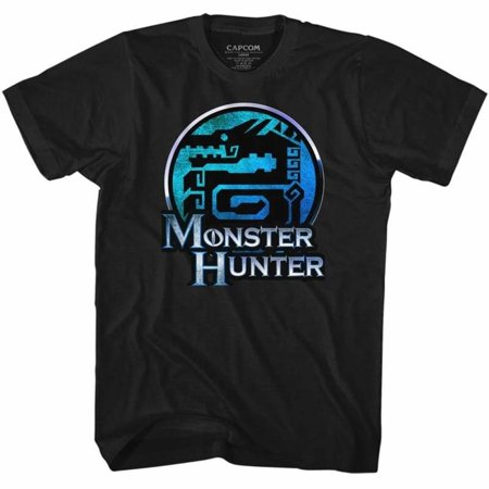 Monster Hunter Gaming Mh Adult Short Sleeve T - Gaming Costumes