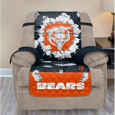 Phenomenal Chicago Bears 65 X 80 3D Recliner Protector Blue No Size Ocoug Best Dining Table And Chair Ideas Images Ocougorg