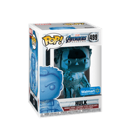 Funko POP! Marvel: Avengers Endgame - W2 - Hulk (Blue Chrome) (Walmart Exclusive)