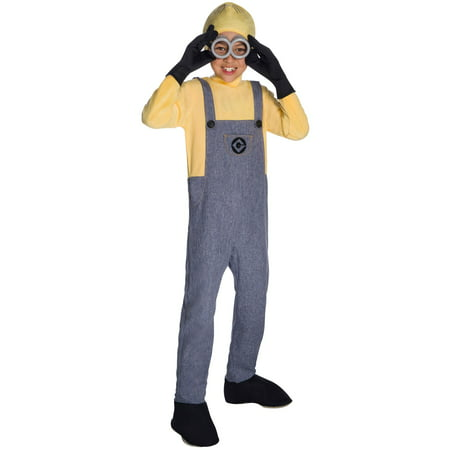 Boys Deluxe Minion Dave Costume - Minion Costume For Boy