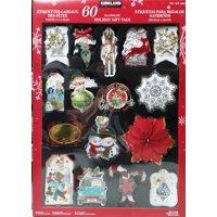Kirkland Signature Handmade Holiday Gift Tags, 60 Count