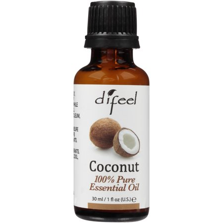 Difeel Coconut 100% Pure Essential Oil 1 fl. oz. Bottle