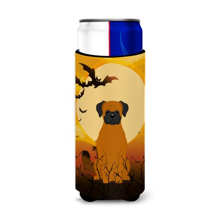 Halloween Fawn Boxer Michelob Ultra Hugger for slim cans BB4381MUK