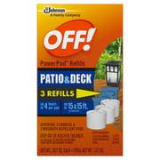OFF! Powerpad Mosquito Lantern Refill 3 ct
