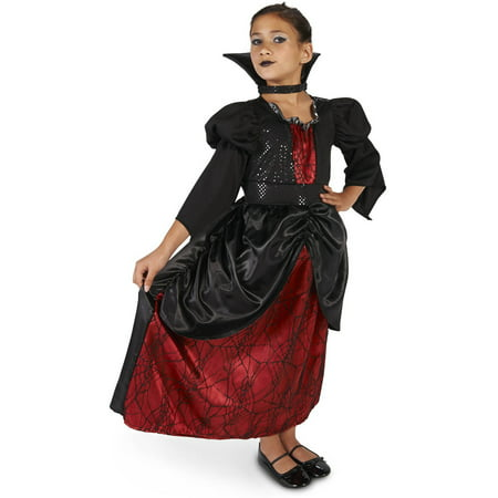 Young Vampire Queen Child Halloween Costume - Vampire Halloween Costumes Homemade