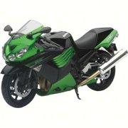 New-Ray 57433B  57433B; Replica 1:12 Super Sport Bike 11 Kawasaki Zx14 Green