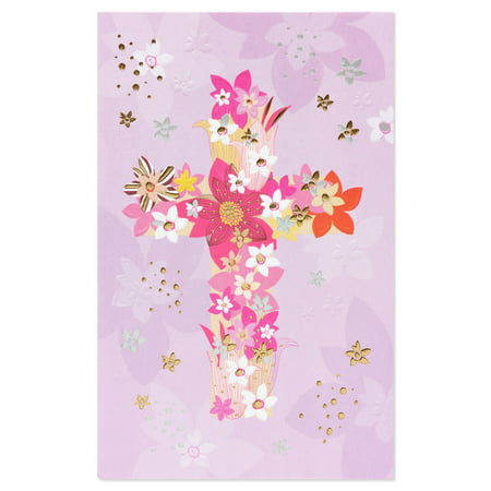 American greetings religious floral easter card with foil walmart american greetings religious floral easter card with foil m4hsunfo